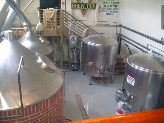 Gritty's Brewing Vessels