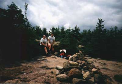On the summit of Carter Dome