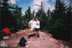 Tim and Danielle on Mt. Field