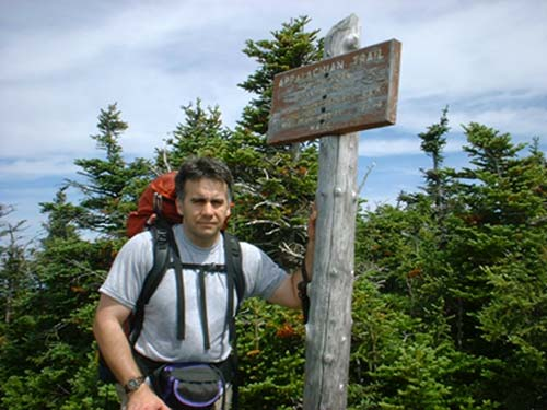 Tim on South Horn
