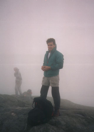 Tim on Mt. Mansfield
